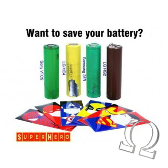 Battery Wraps Super Hero