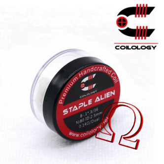 HandCrafted Coils Staple Alien