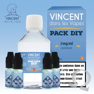 Pack DIY 3 - 210ml