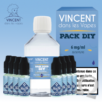 Pack DIY 6 - 210ml