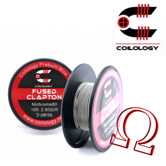 Spool Wire Fused Clapton - 12.90€